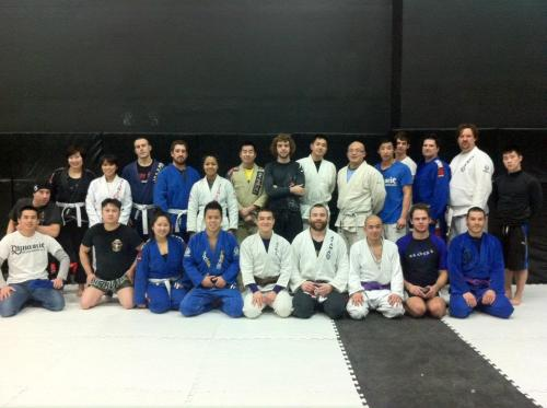 BJJ class at Dynamic MMA in Vancouver.