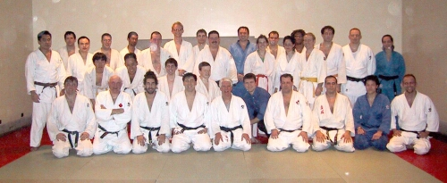 University of Toronto Judo Club. Hart House. 2001.