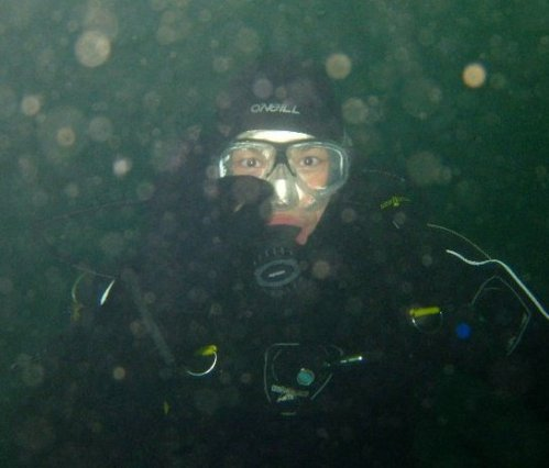 Scuba diving in the Pacific Northwest