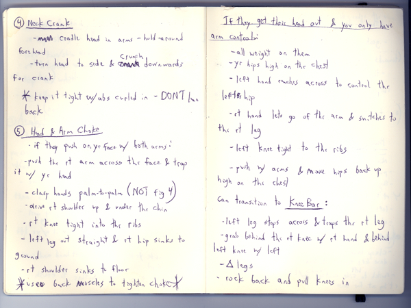 Why and How To Keep a Brazilian Jiu-Jitsu Notebook   The Jiu-Jitsu ...